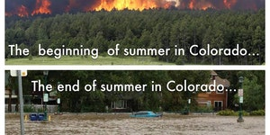 Summer in Colorado.