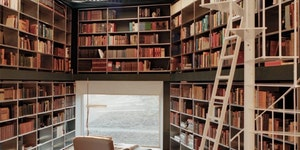 I could read a book here.
