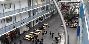 The Technische Universität in Münich has slides on the 4th floor.