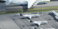 The Antonov 225 is friends with Bagger 288