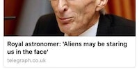 'Tee hee hee they have no idea' - Alien, probably