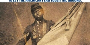 Sgt Willam Harvey Carney circa 1865.