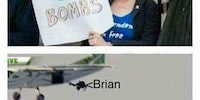 Brians not bombs