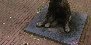 A bronze doge and his art, circa Rotterdam.
