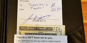 How to tip properly.