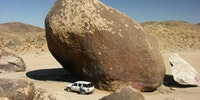 The largest freestanding boulder on Earth