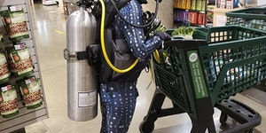 Whole Foods now requires SCUBA certification.