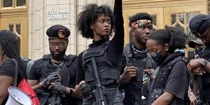 Black Panther Party Atlanta division, circa 2020