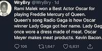 Meaty conspiracy theory.