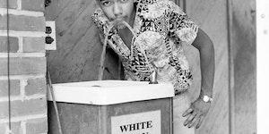 Cecil J. Williams practicing civil disobedience.