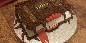 The Monster Book Of Monsters [The Cake]