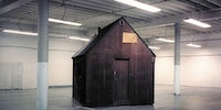 This is the Unabomber's cabin, stored in an FBI storage facility on an air force base in Sacramento.