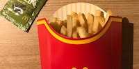 McDonalds in Japan offers seaweed flakes for your fries.