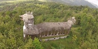 The Chicken Church built in the Indonesian jungle by a man who had a vision from god.